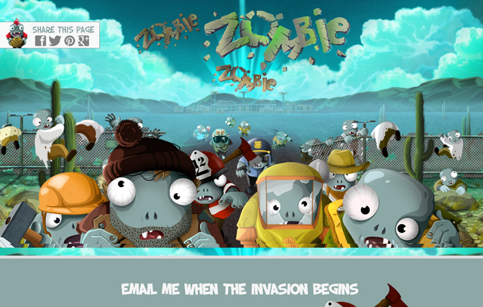zombie-landing-page